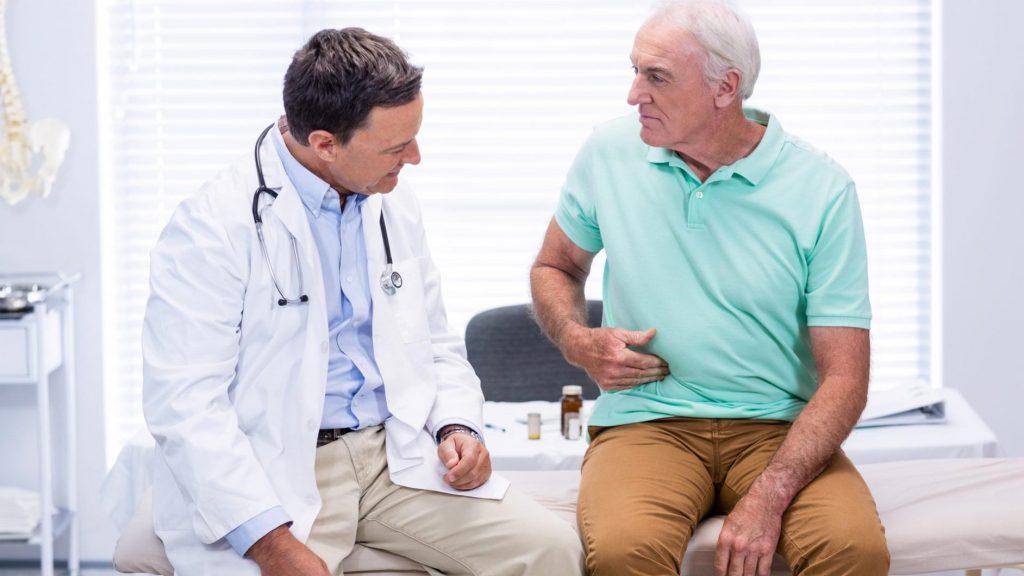 مشکل روده در سالمندان